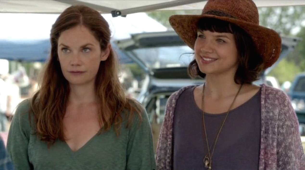 Ruth Wilson and Kaija Matiss in THE AFFAIR 1x02