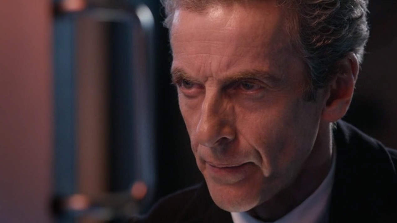 The Doctor (Peter Capaldi) in FLATLINE