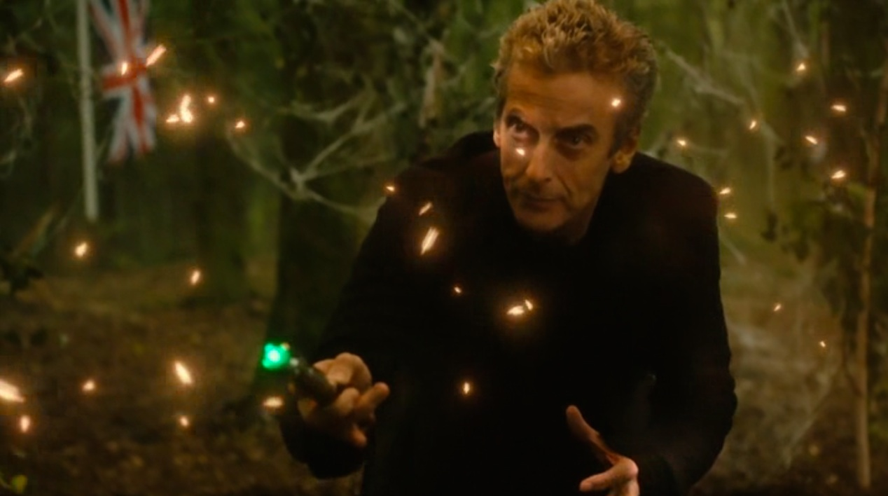 The Doctor (Peter Capaldi) in IN THE FOREST OF THE NIGHT