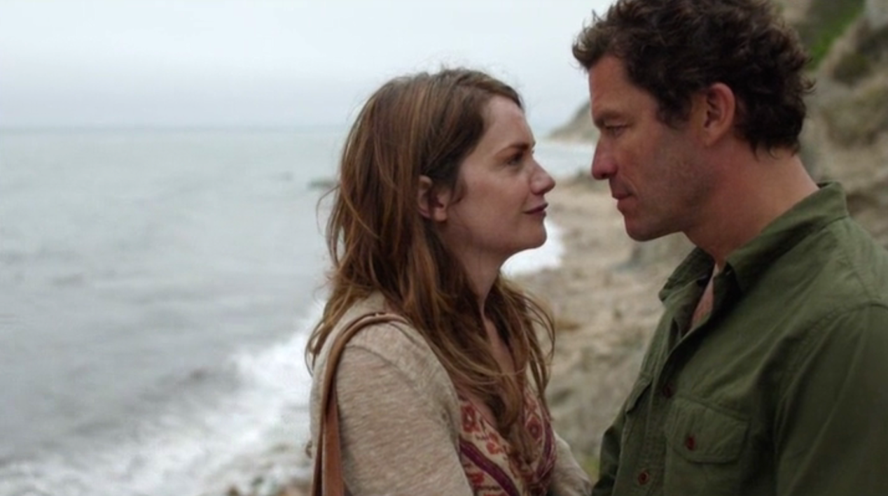 Alison (Ruth Wilson) and Noah (Dominic West) in THE AFFAIR 1x04