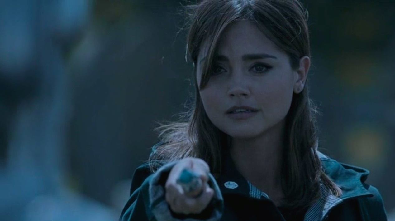 Jenna Coleman in DEATH IN HEAVEN