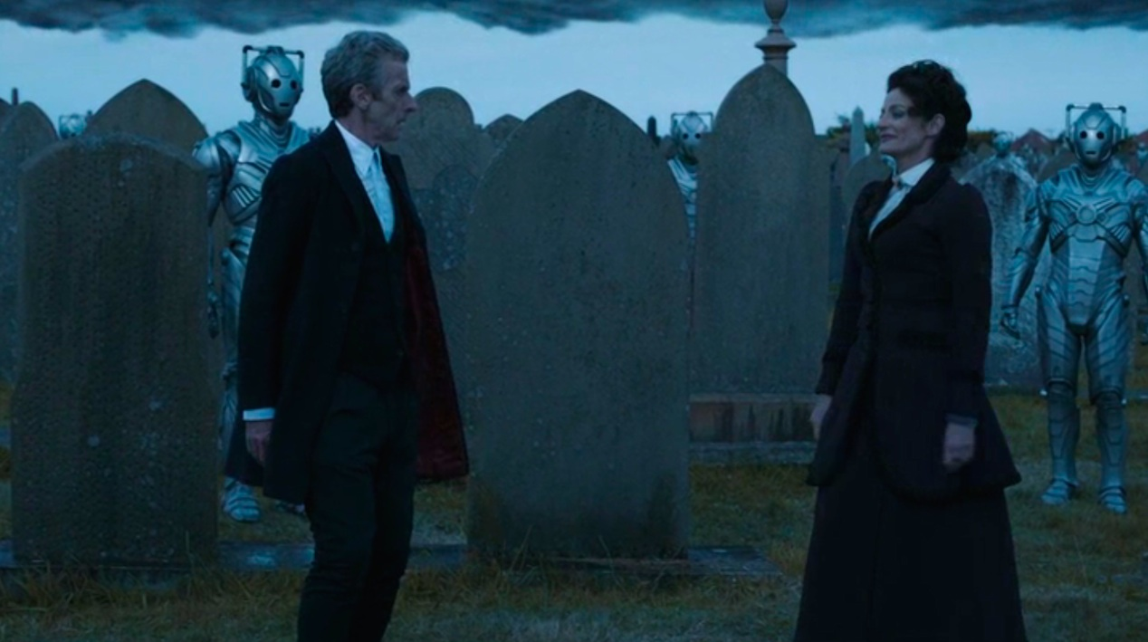 Peter Capaldi and Michelle Gomez in DEATH IN HEAVEN