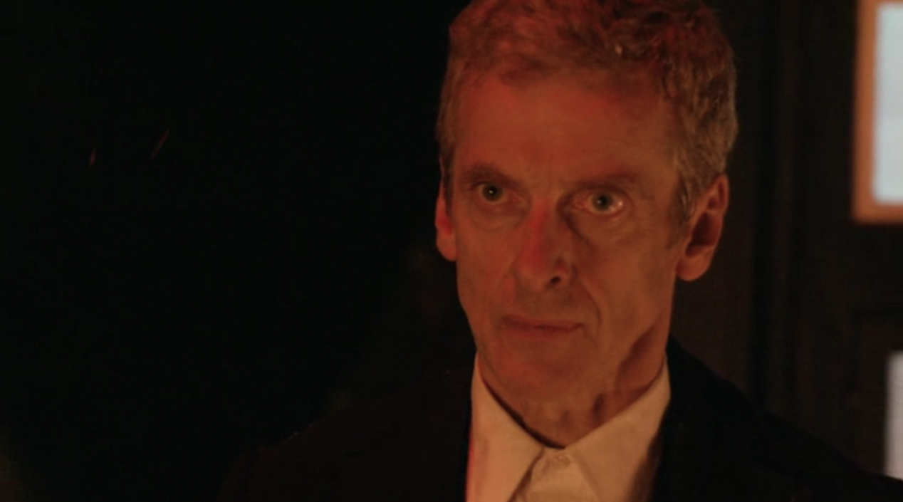 "Peter Capaldi in ""Dark Water"""