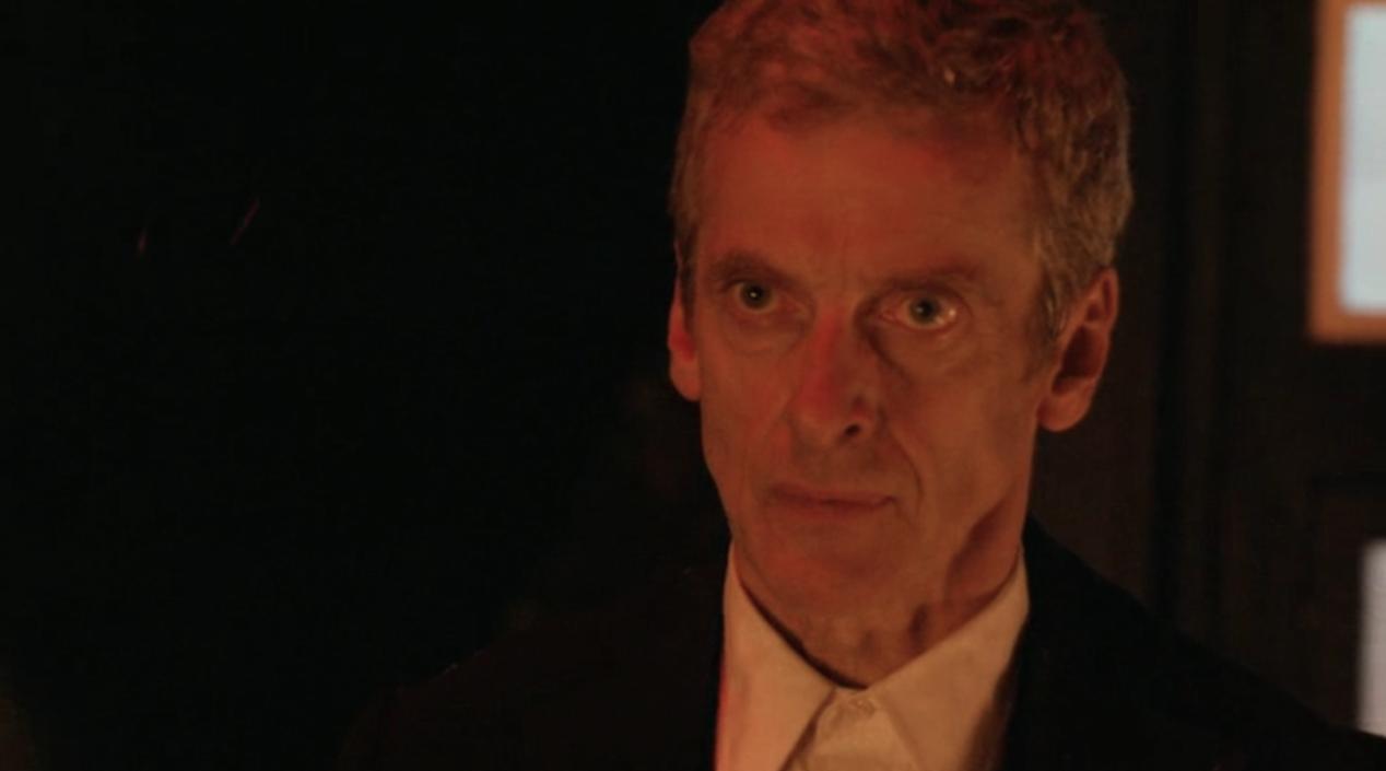"""Peter Capaldi in """"Dark Water"""""""