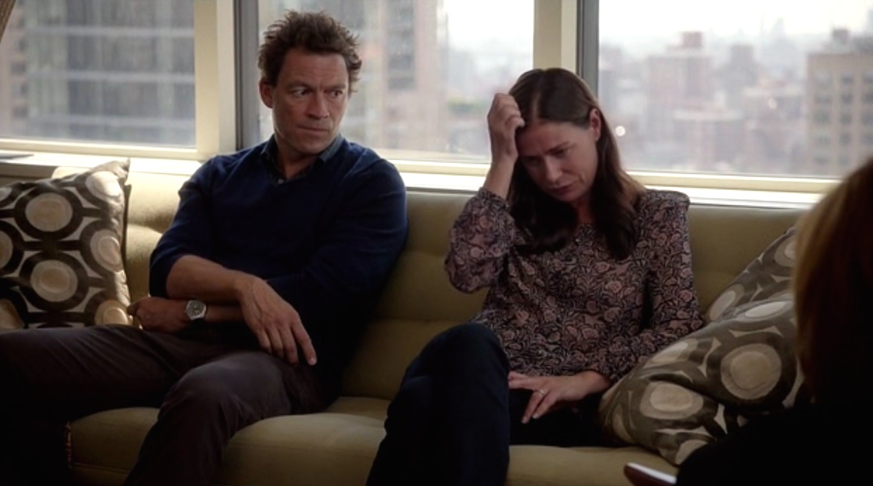 Dominic West and Maura Tierney in THE AFFAIR 1x08