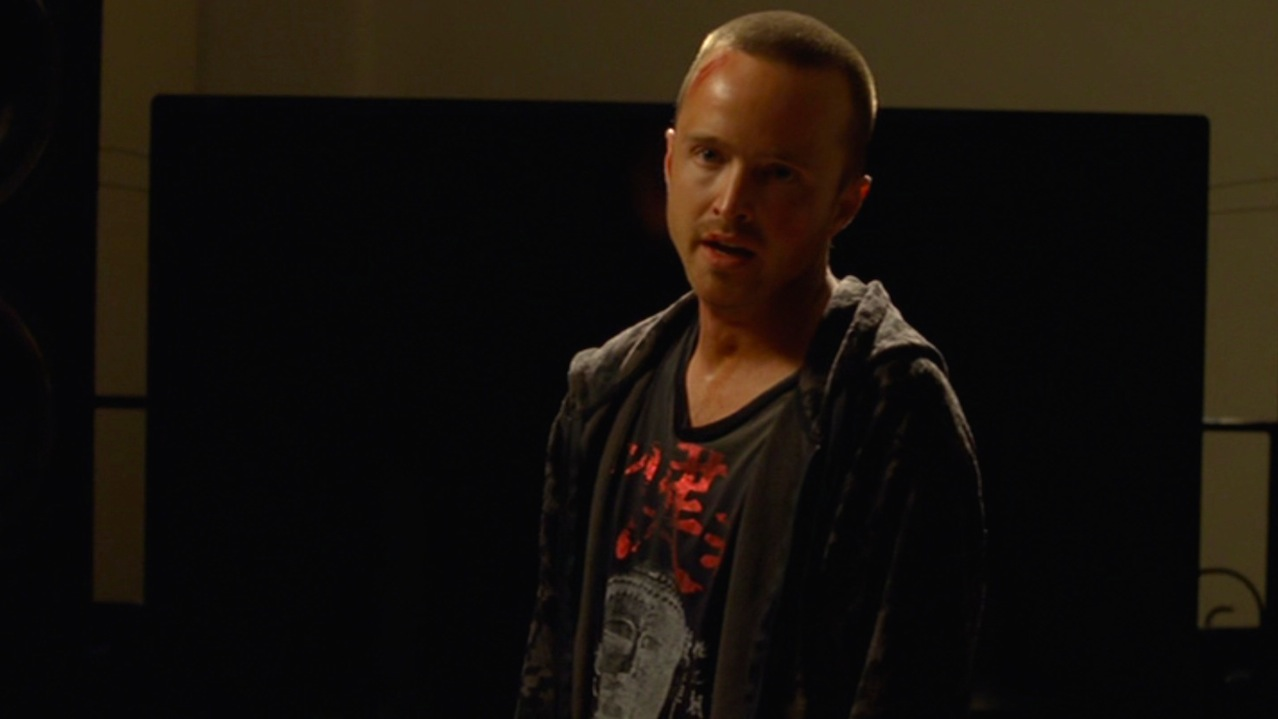 Jesse (Aaron Paul) in BUG