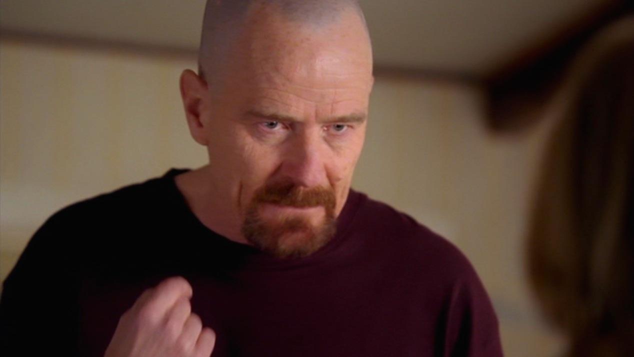 Walt (Bryan Cranston) in CORNERED