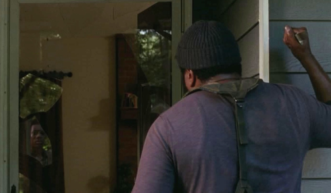 Noah (Tyler James Williams) and Tyreese (Chad Coleman)