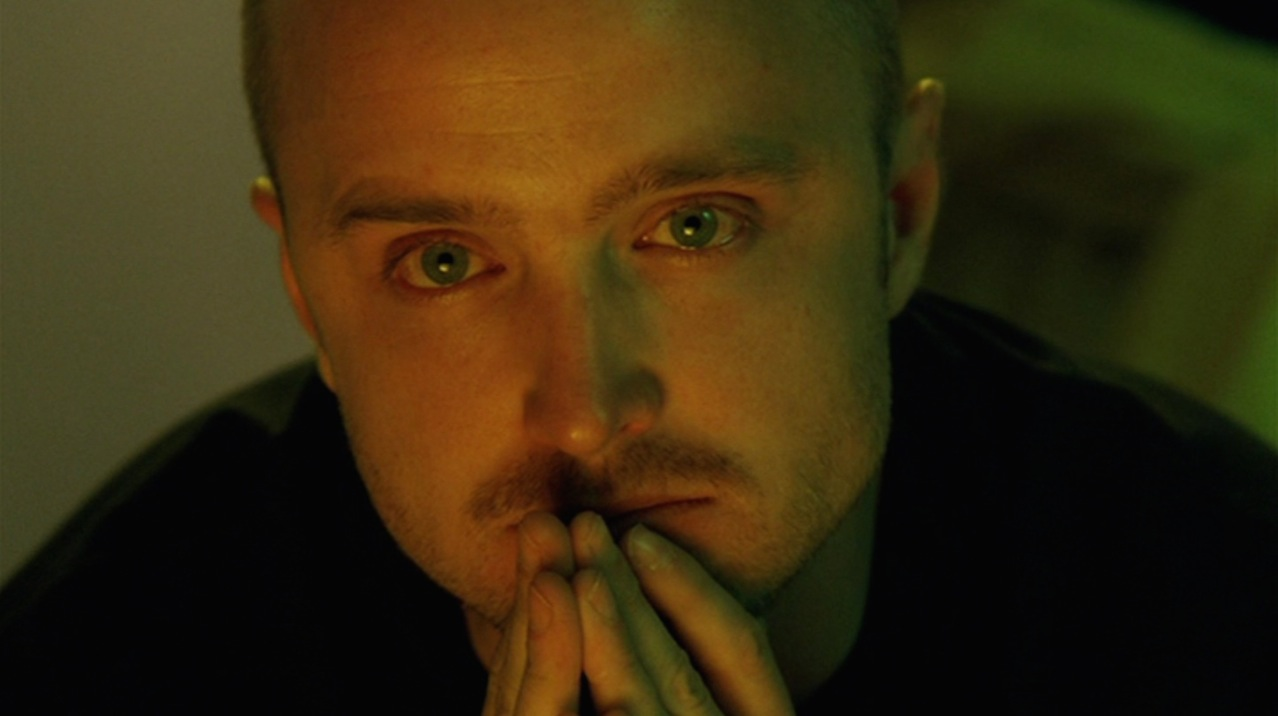 "Jesse (Aaron Paul) in ""Buyout"""