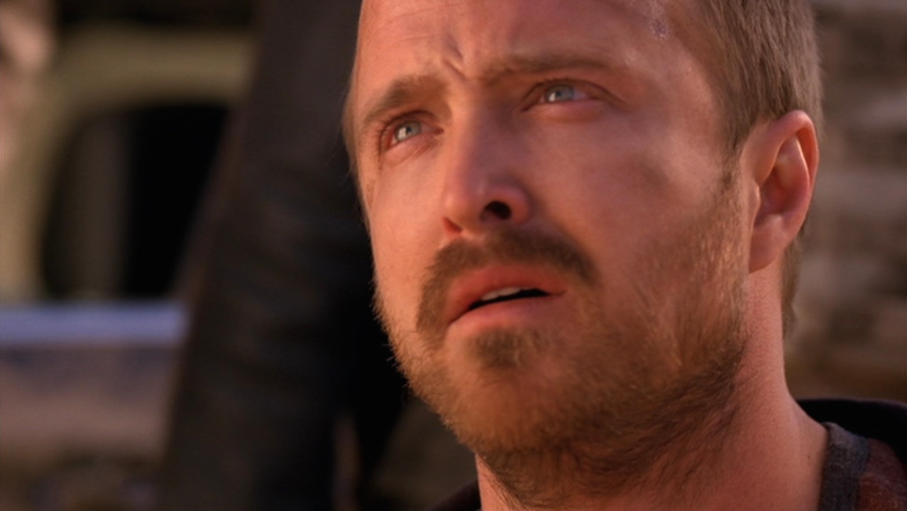 Jesse (Aaron Paul) in OZYMANDIAS