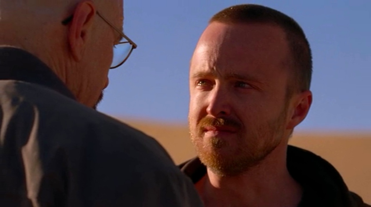 Walt (Bryan Cranston) and Jesse (Aaron Paul) in CONFESSIONS