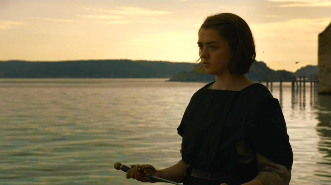 Arya Stark (Maisie Williams) in High Sparrow