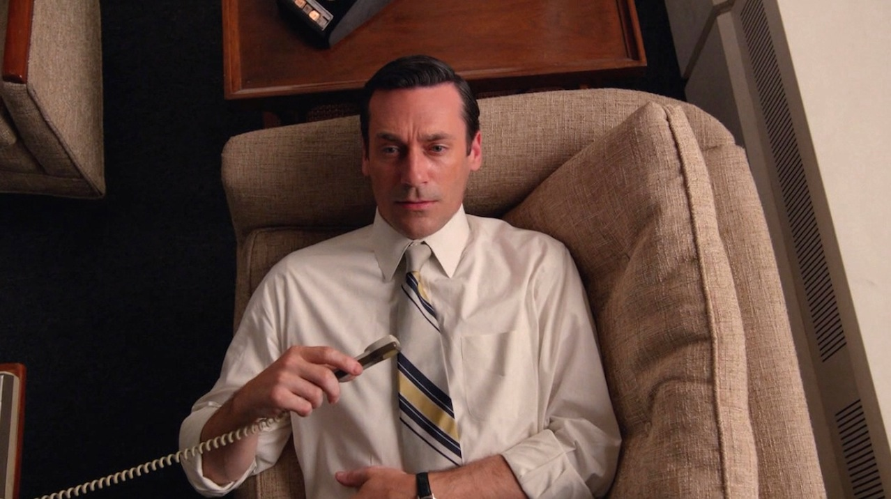 Don Draper (Jon Hamm) in The Forecast