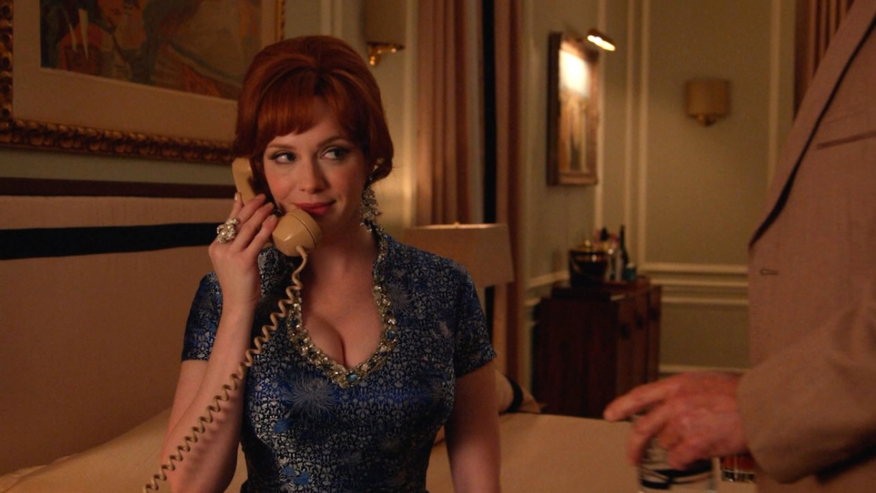Joan (Christina Hendricks) in The Forecast