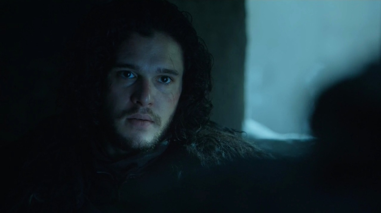 Jon Snow (Kit Harington) in The Wars to Come