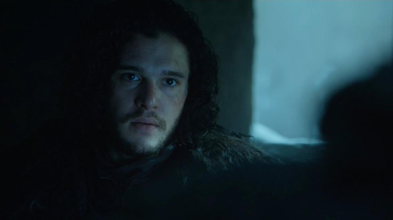 Jon Snow (Kit Harington) in The Wars to Come