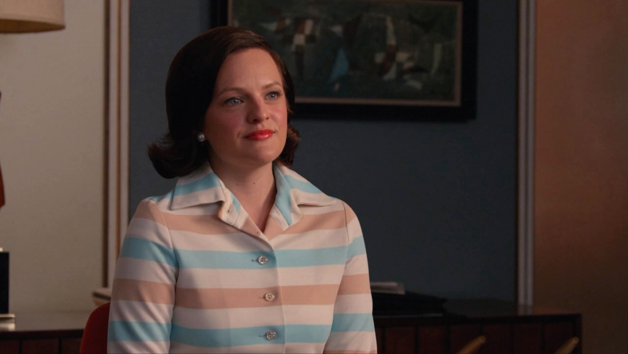 Peggy (Elisabeth Moss) in The Forecast