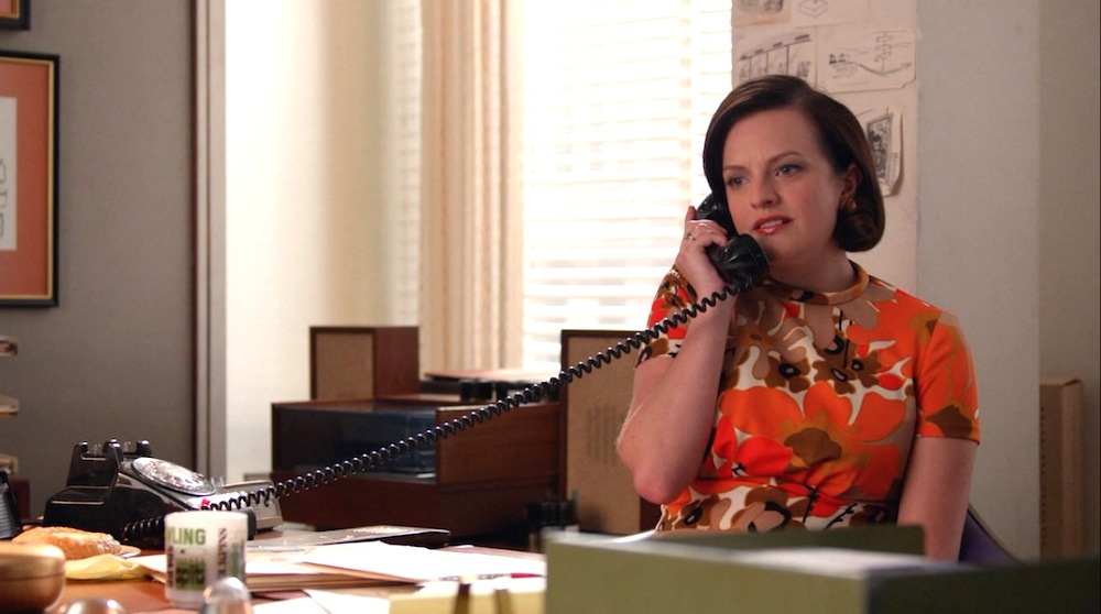 Peggy (Elisabeth Moss) in Time & Life