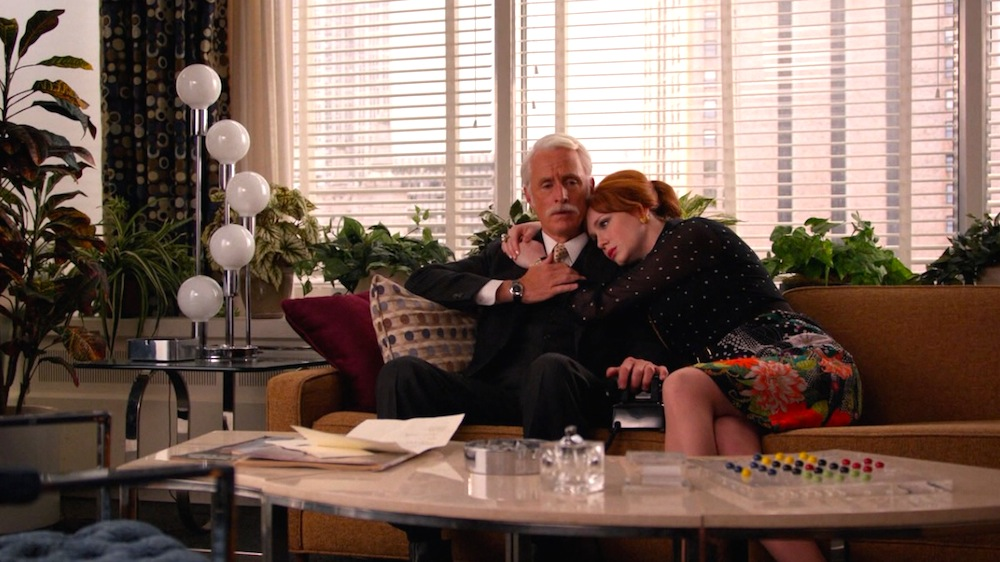Roger Sterling (John Slattery) and Joan Harris (Christina Hendricks) in Time & LIfe