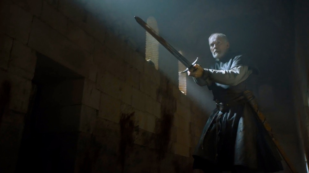 Barristan Selmy (Ian McElhinney) in The Sons of the Harpy