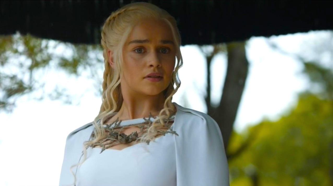 Daenerys Targaryen (Emilia Clarke) in The Gift