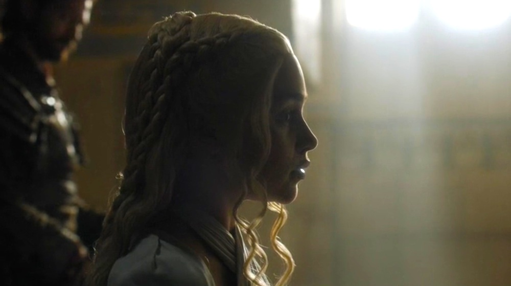 Dany (Emilia Clarke) in The Sons of the Harpy