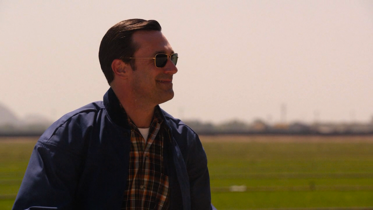 Don Draper (Jon Hamm) in The Milk and Honey Route