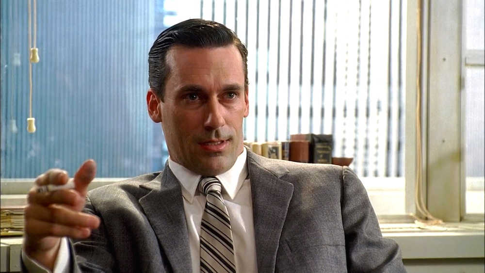 Don Draper (Jon Hamm) in the pilot episode of Mad Men