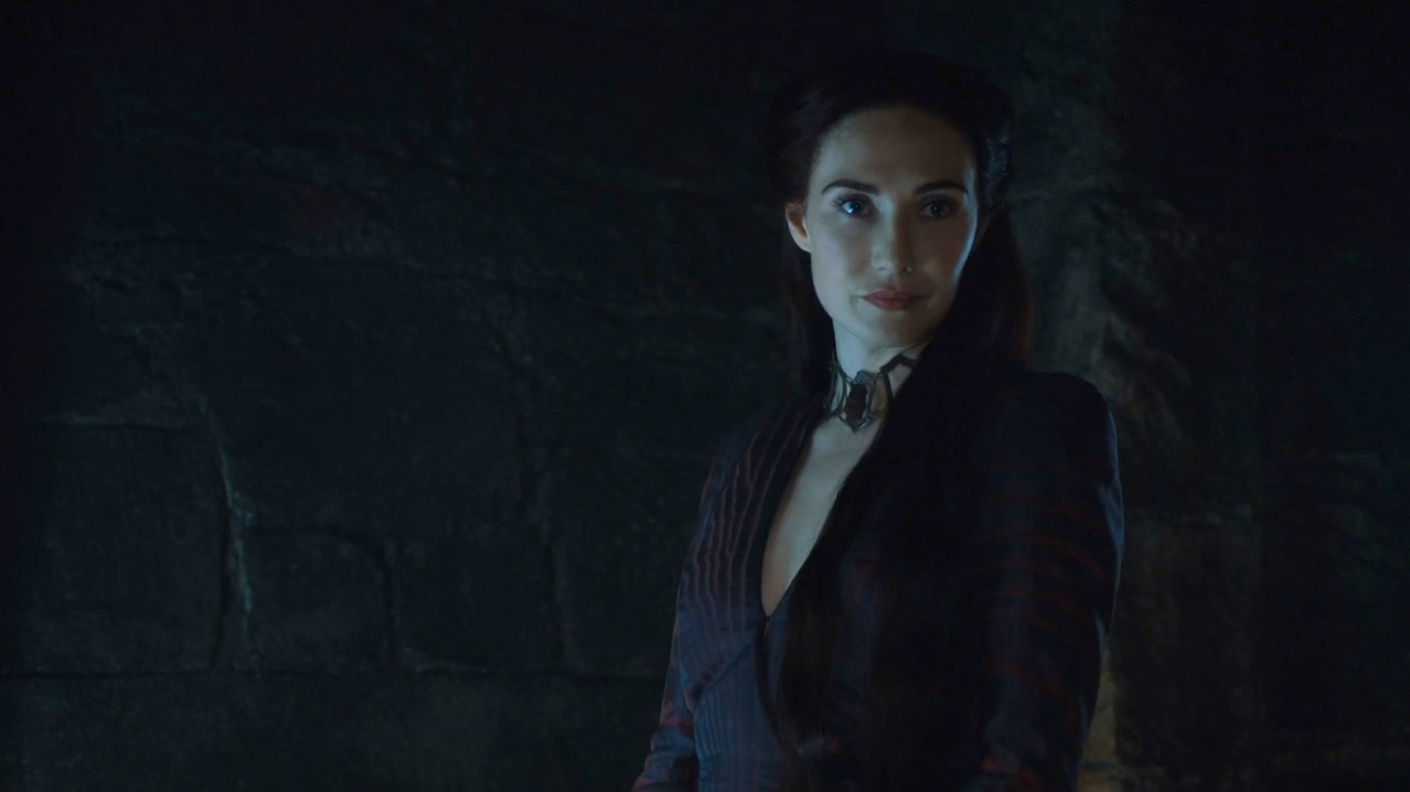 Melisandre (Carice van Houten) in The Sons of the Harpy