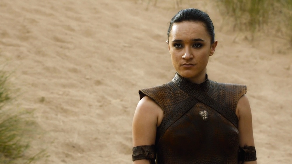 Obara (Keisha Castle-Hughes) in The Sons of the Harpy
