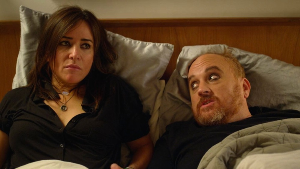 Pamela Adlon and Louis CK in Bobby's House