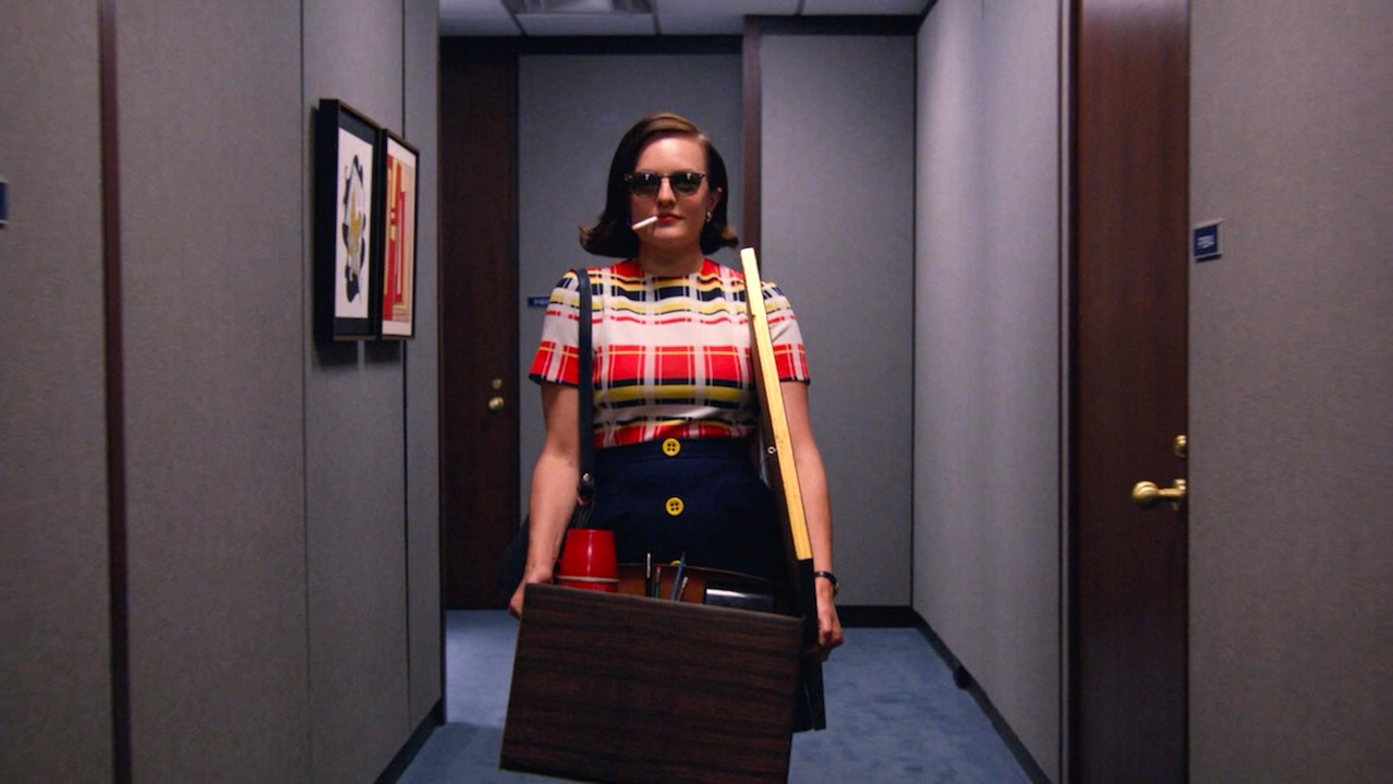 Peggy Olson (Elisabeth Moss) in Lost Horizon