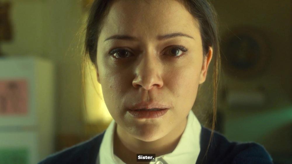 Beth (Tatiana Maslany) in Orphan Black 3x06