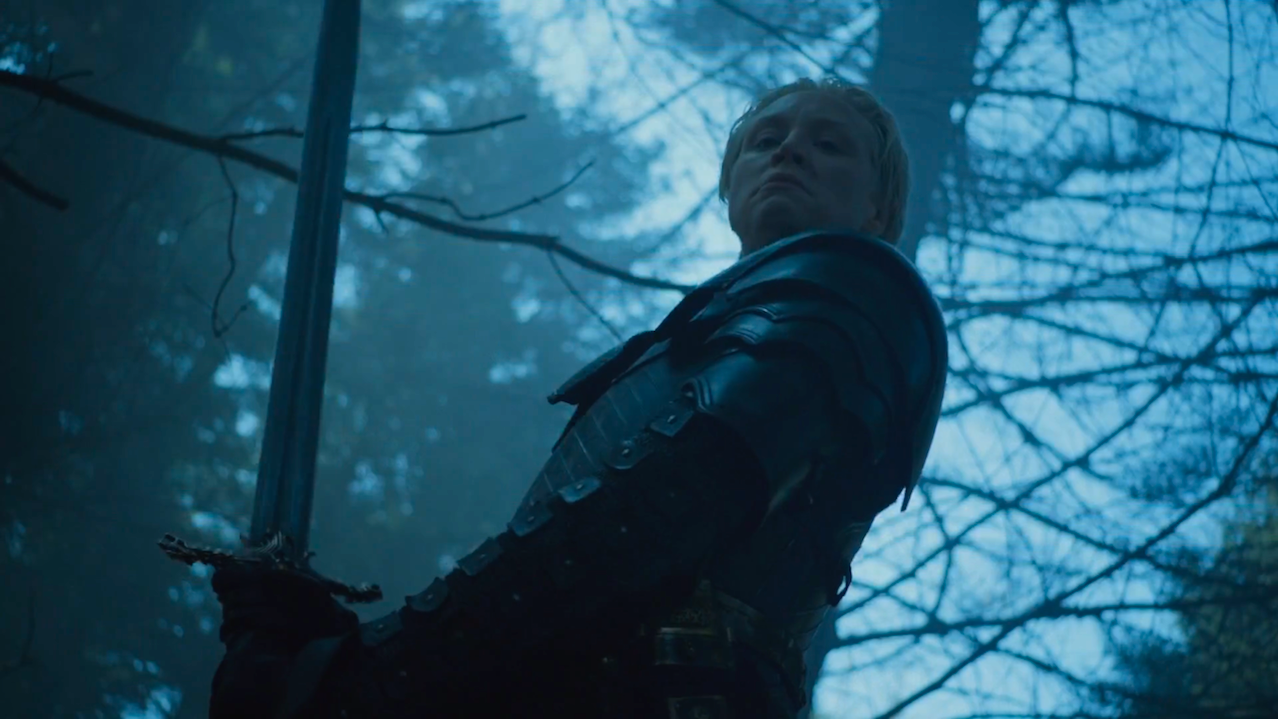 Brienne of Tarth (Gwendoline Christie) in Game of Thrones 5x10