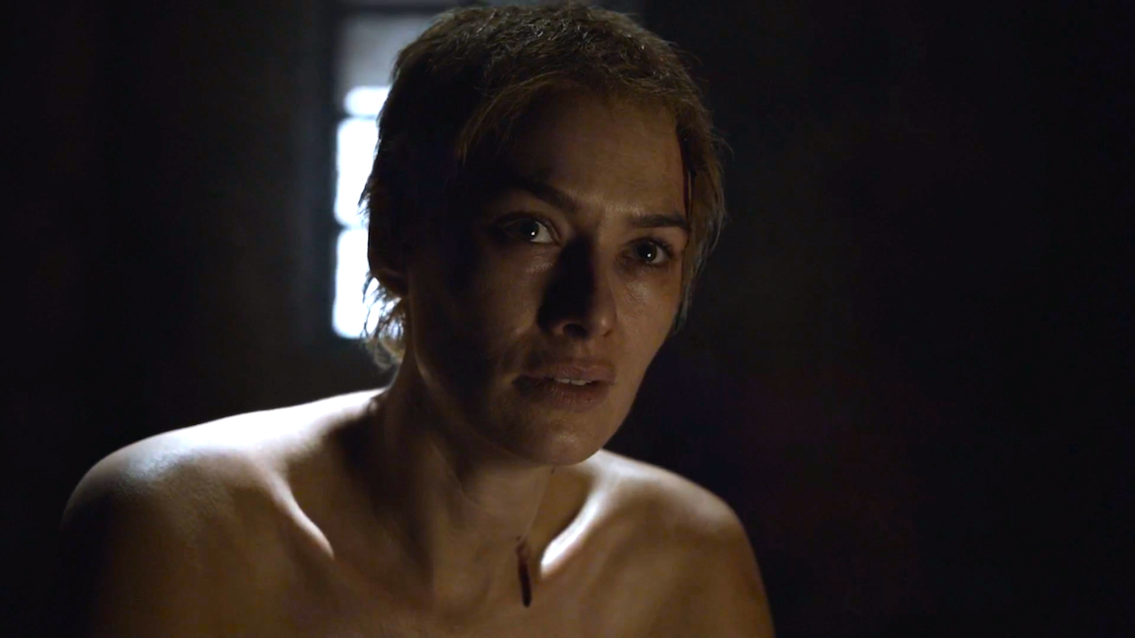 Cersei Lannister (Lena Headey) in Game of Thrones 5x10