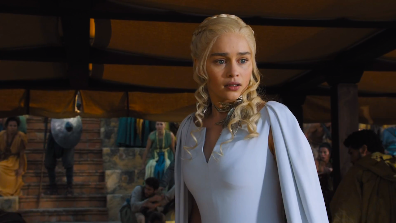 Daenerys (Emilia Clarke) in The Dance of Dragons