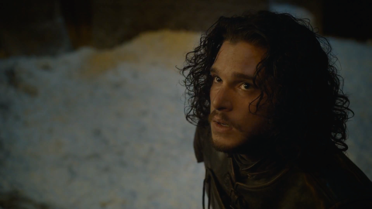 Jon (Kit Harington) in Game of Thrones 5x10