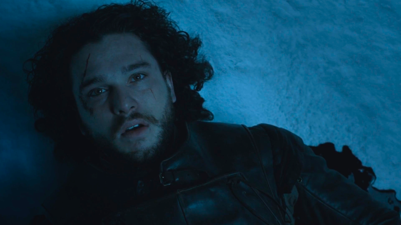 Jon Snow (Kit Harington) in Game of Thrones 5x10