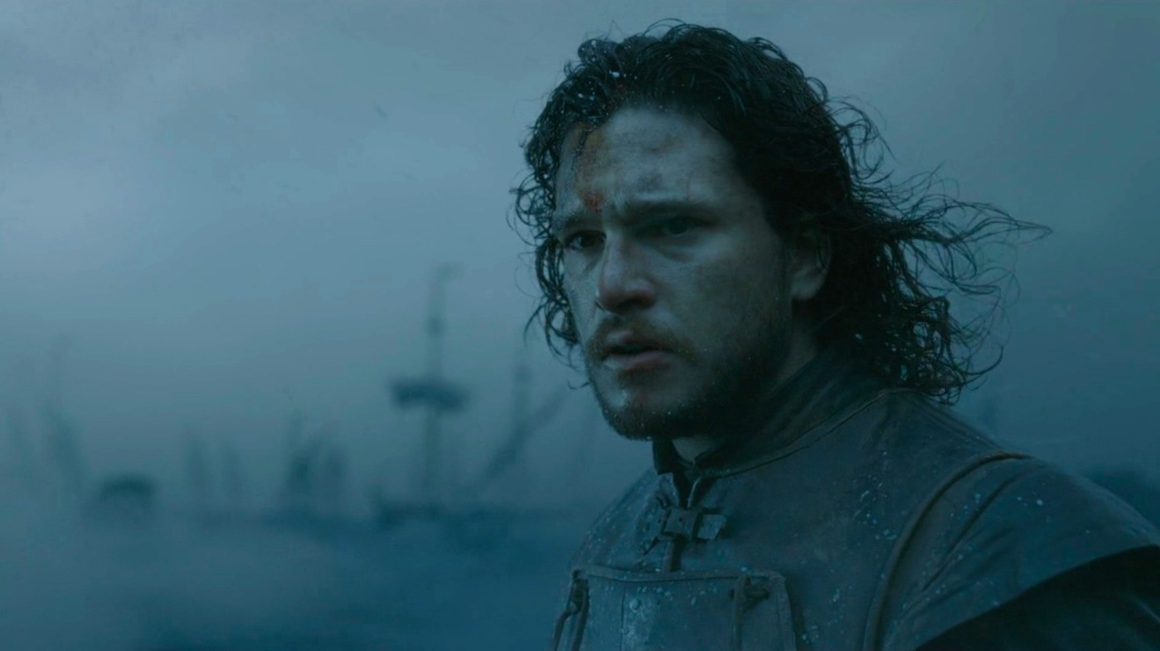 Jon Snow (Kit Harington) in Hardhome