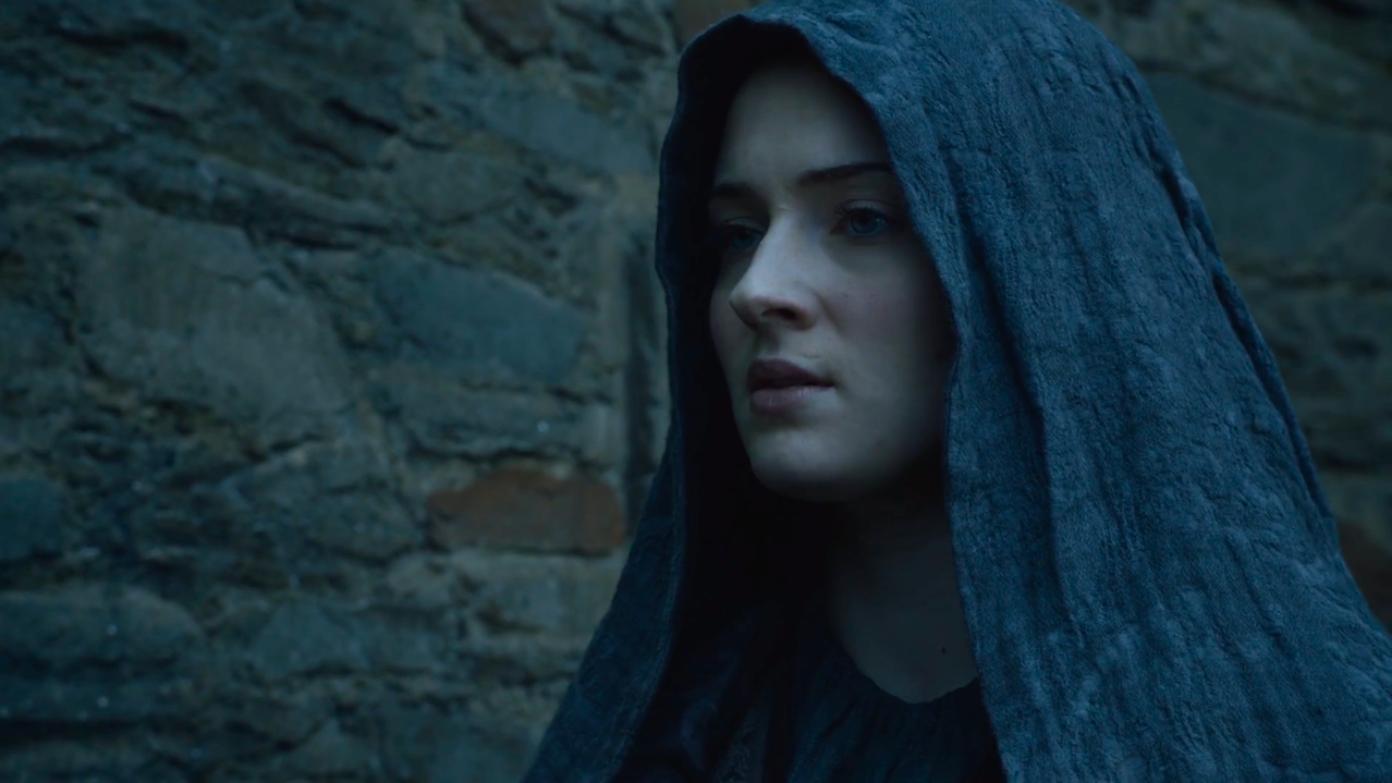 Sansa Stark (Sophie Turner) in Game of Thrones 5x10'