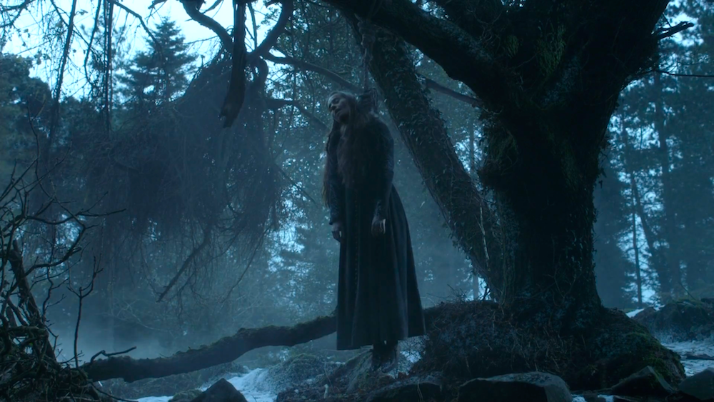 Selyse Baratheon (Tara Fitzgerald) in Game of Thrones 5x10
