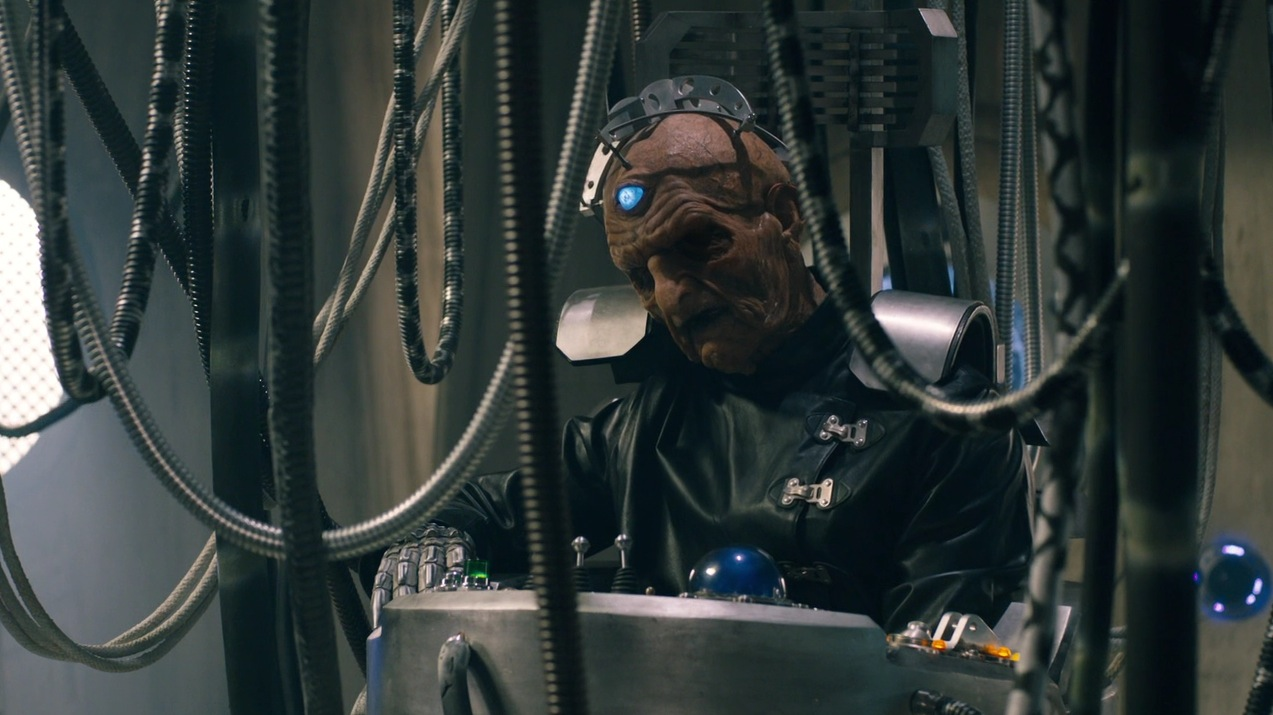 Davros (Julian Bleach) in The Magician's Apprentice
