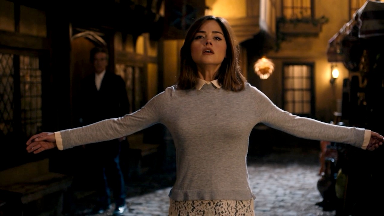 Clara Oswald (Jenna Coleman) in Face the Raven