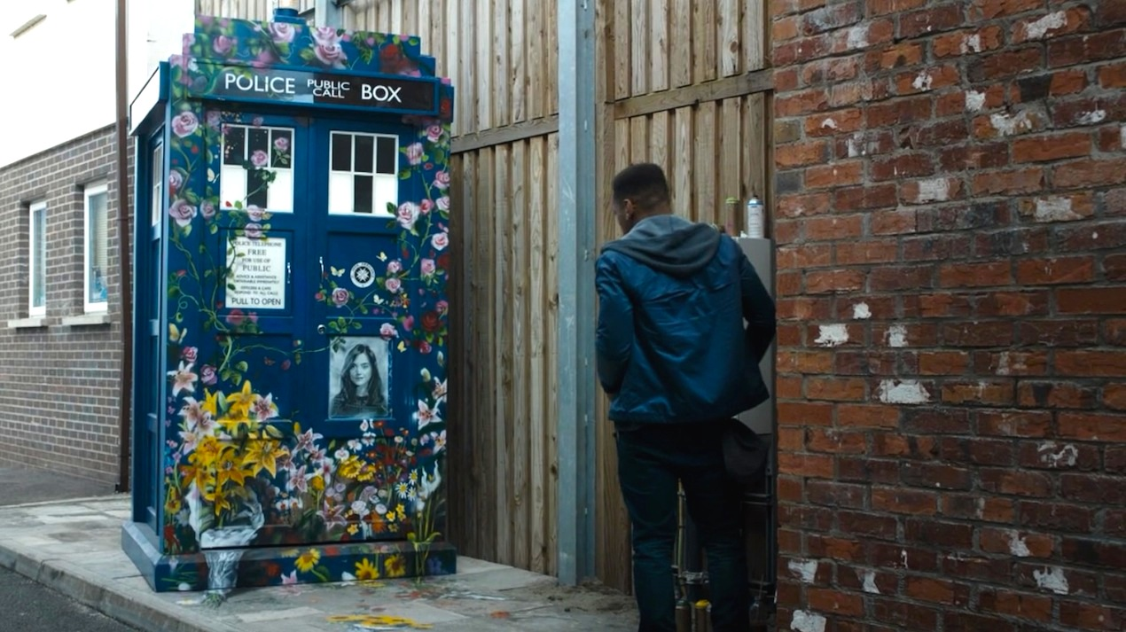 Clara's memorial in Face the Raven