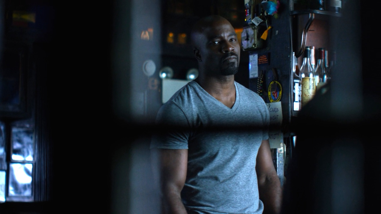 Luke Cage (Mike Colter) in AKA Crush Syndrome