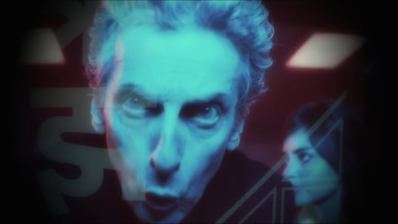 The Doctor and Clara in Sleep No More