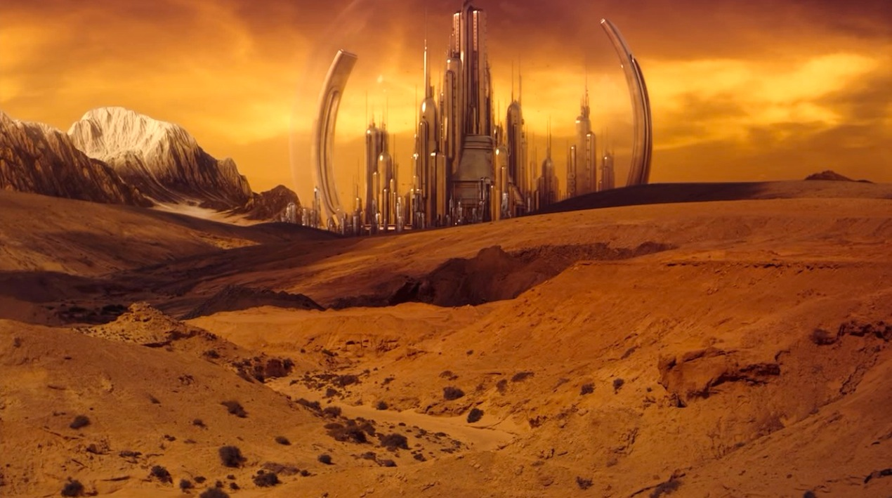 Gallifrey in Heaven Sent