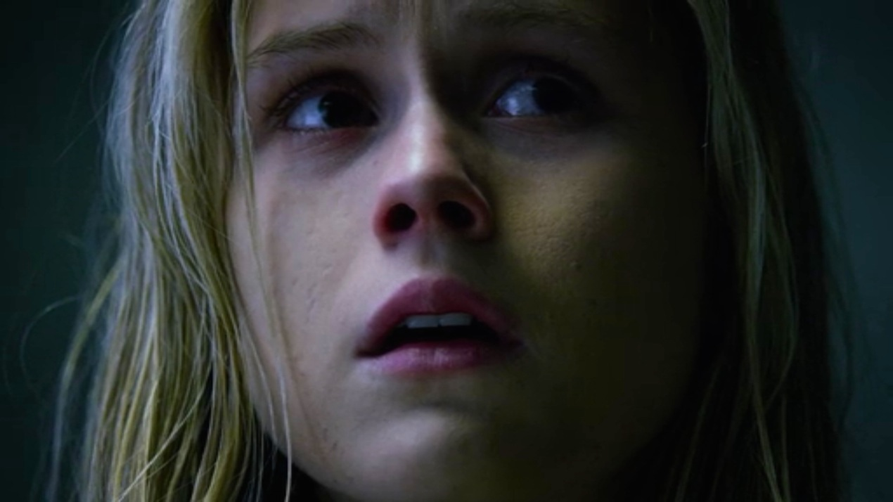 Hope (Erin Moriarty) in AKA It's Called Whiskey