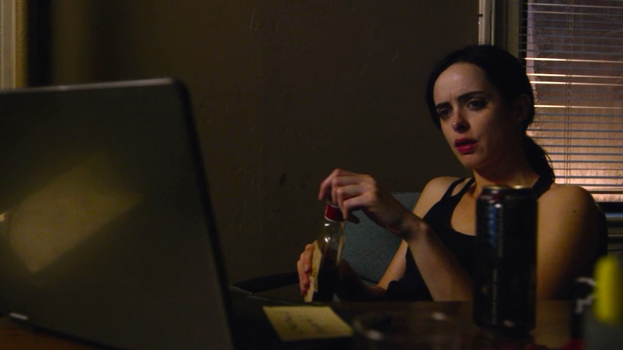 Jessica Jones (Krysten Ritter) in AKA It's Called Whiskey