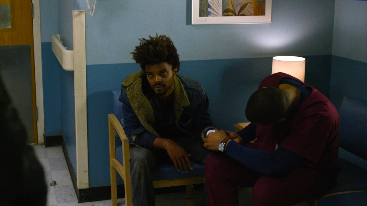 Malcolm (Eka Darville) in AKA It's Called Whiskey